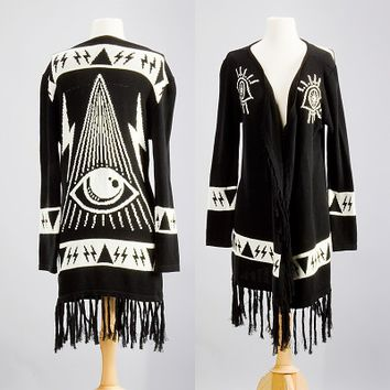 Unif All seeing eye sweater