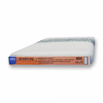 Pellon Wonder Under Paper Backed Fusible Web 17 inches Wide  ONE YARD (91cm)