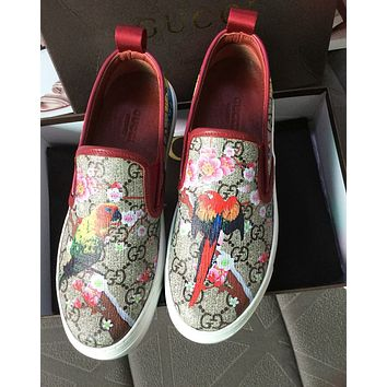 GUCCI Trending Women Men Stylish Print Sneakers Sport Shoes