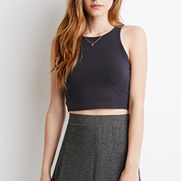 Racerfront Crop Top