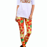 Turtle Pizza Leggings