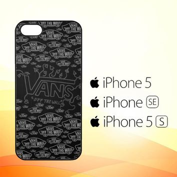 Vans Off The Wall Logo X3257  iPhone 5|5S|SE Case
