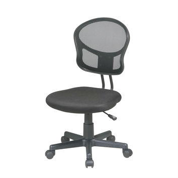 Black Mesh Task Chair Home Office Student Dorm Computer Chair