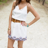 Arizona Sun Dress, White
