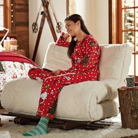 Grinch™ Flannel Pajama Set