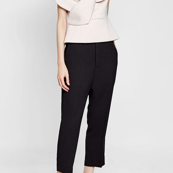 Cotton Top with Oversize Appliqué - Delpozo | WOMEN | US STYLEBOP.COM