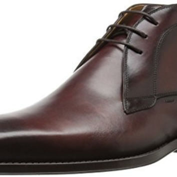 MAGNANNI MENS GAVIN CHUKKA BOOT, MID BROWN, 13 M US