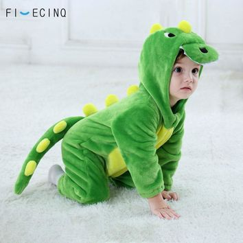 Baby Dinosaur Kigurumi Green Animal Cartoon Cosplay Costume Infa 69ce93101
