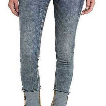 DCCKAB3 Miss Me High Rise Vintage Blue Ankle Skinny Jeans