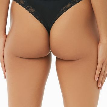 Cheeky Lace-Trim Panties