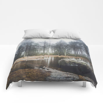 Moody mornings Comforters by happymelvin