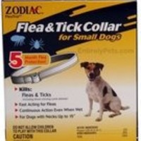 Zodiac Flea and Tick Collar for 5-Month Dog, Small