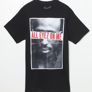 All Eyes On Me T-Shirt - Mens Tee - Black