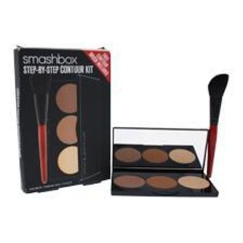 Smashbox Step-By-Step Contour Kit By Smashbox For Women - 0.4 Oz Palette