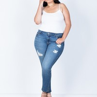 Plus Size Right Fit Skinny Jeans