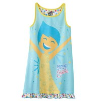Disney / Pixar Inside Out ''Every Day is Full of Emotions'' Nightgown - Girls 4-8, Size: