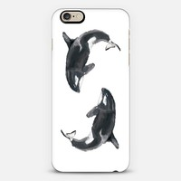 Orca / Whale iPhone 6 case by Triple Studio | Casetify