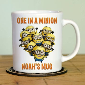 Personalized Minion Character - home goods White Mugs