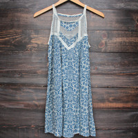 young at heart vintage floral print dress
