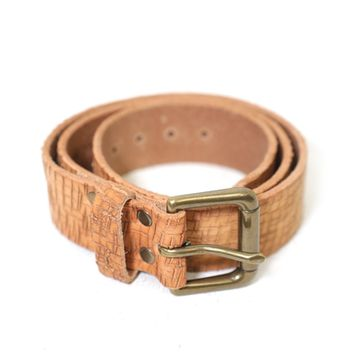 Brave Leather Ltd. Baxter Leather Belt in Cognac | Boutique To You