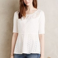 Tiny Amelia Top in Ivory Size:
