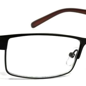 Fresh Look Optical Reading Glasses Men Women Reader Metal Spring Hinge Frame