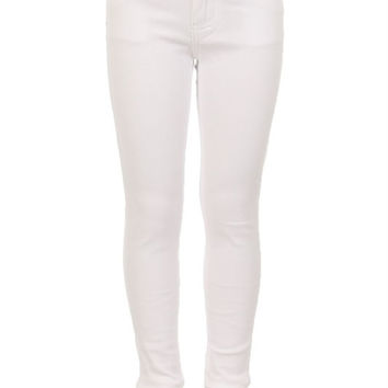 White KIDS 5 Pocket Classic Pants