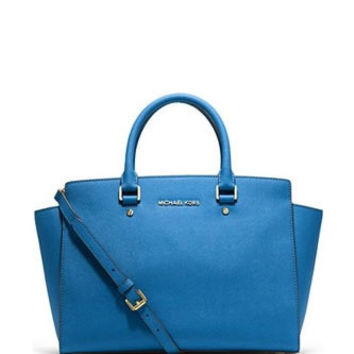 Michael Michael Kors Selma Large East West Zip Satchel