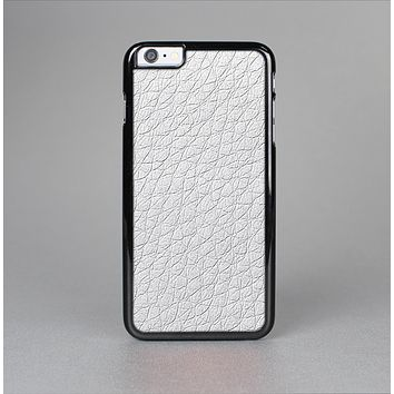 The White Leather Texture Skin-Sert for the Apple iPhone 6 Plus Skin-Sert Case