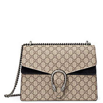 Gucci - Dionysus GG Supreme Canvas Shoulder Bag - Saks Fifth Avenue Mobile