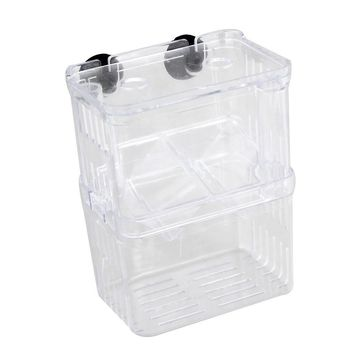 MEOF Clear transparent Plastic Aquarium Fish Breeding Box Incubator Isolation