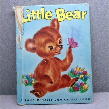 1956 Little Bear Vintage Childrens Book (read description for condition)
