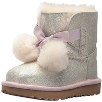 UGG Kids T Gita Metallic Pull-on Boot UGG Kids' I Jesse Bow Boot  UGG boots with bows