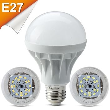 LED bubble ball bulb E27 For Home Led Lamp Light 3W 5W 7W 9W 220V SMD5730 Ampolletas Bombillas LEDs Bulb lamp bulbs led lights