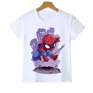 Deadpool Dead pool Taco Fashion New Arrival Spiderman//Iron Man/ The Flash/Captain America Boys Kids Tee Boys Child's Cool Clothes Shirt Z36-1 AT_70_6