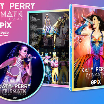 ARTWORK: Prismatick World Tour - Katy Perry DVD