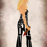 Buffy the Vampire Slayer Inspired Buffy Poster