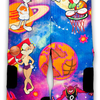 Space Jam Custom Elite Socks