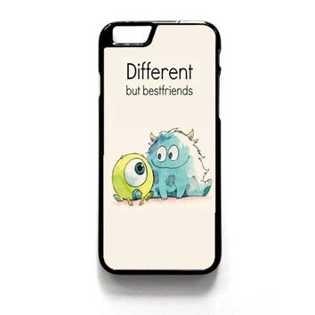 Monster Inc Best Friends iPhone 4 4S 5 5S 5C 6 6 Plus , iPod 4 5  , Samsung Galaxy S3 S4 S5 Note 3 Note 4 , and HTC One X M7 M8 Case