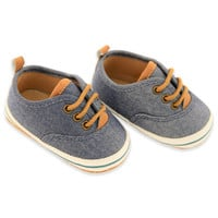 Rising Star™ Chambray Lace-Up Sneaker in Blue