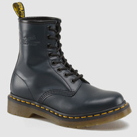 Dr Martens 1460 WOMENS NAVY SMOOTH - Doc Martens Boots and Shoes