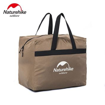 Naturehike 45L large capacity swimming bags travel hiking outdoor handle bag Folding Barrel Gym Totes men women travel Bags