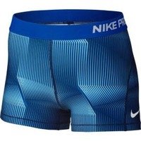 Nike Women's 3'' Pro Cool Pyramid Printed Shorts| DICK'S Sporting Goods