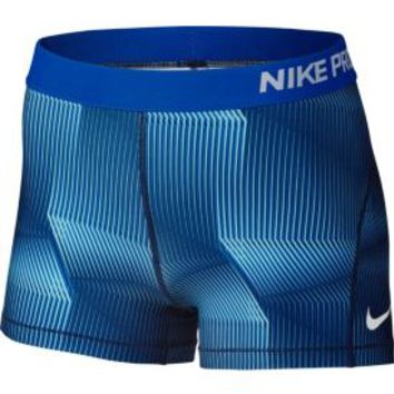 Nike Women's 3'' Pro Cool Pyramid Printed Shorts  DICK'S Sporting Goods