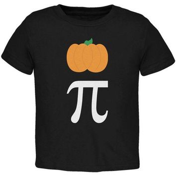 PEAPGQ9 Halloween Math Pi Costume Pumpkin Day Toddler T Shirt