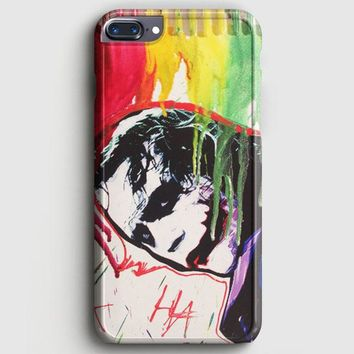 The Joker Paint Art iPhone 8 Plus Case | casescraft