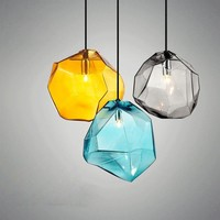 Modern Colorful Glass Pendant Indoor Home Lighting