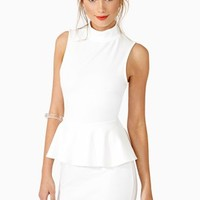 Cool Flash Peplum Dress