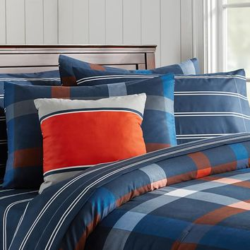 Knockout Plaid Bedding Set