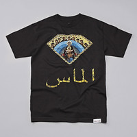 Flatspot - Diamond Arabic Mary T Shirt Black